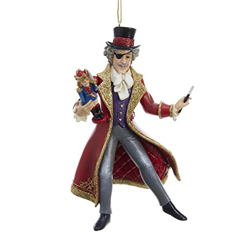 Kurt Adler Resin The Nutcracker Drosselmeyer 6 Inch Christmas Ornament