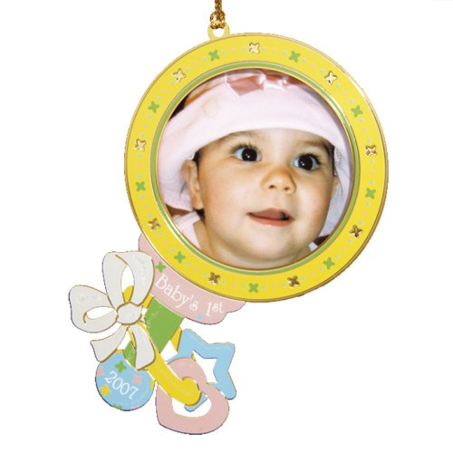 Baldwin Baby's First Photo Frame, 2007 Ornament