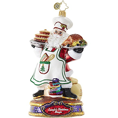 Christopher Radko Cooking Kringle's Santa Christmas Mingle Ornament