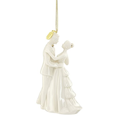 Lenox 869896  Annual China Ornaments 2017 Bride & Groom