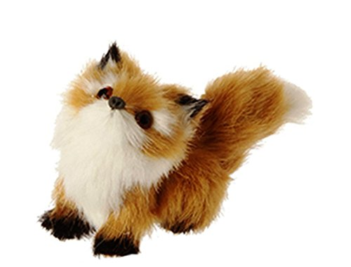 RAZ Christmas Cabin Theme Animal Ornament, Choice of Style (Fox)