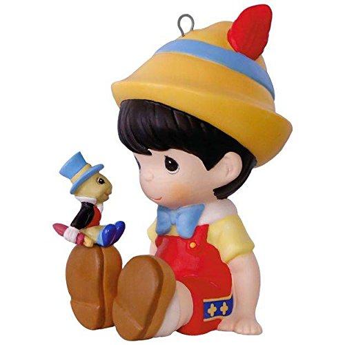 Hallmark Keepsake 2017 – Disney Pinocchio and Jiminy Cricket Precious Moments Porcelain Ornament