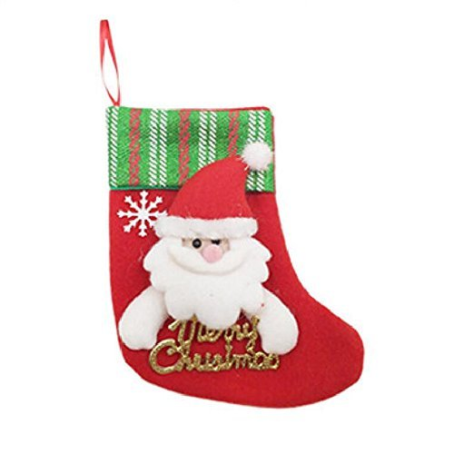 Zehui Christmas Stocking Holders Candy Bag Christmas Gift Bag Hanging Decor for Christmas Decoration