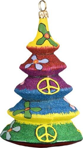 Glitterazzi Tie Dye Tree Ornament