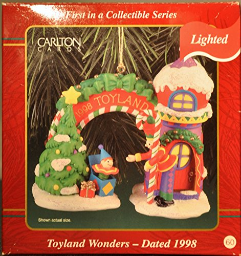 Carlton Cards Toyland Wonders, Dated 1998, Lighted Ornament First in a Collectible Series