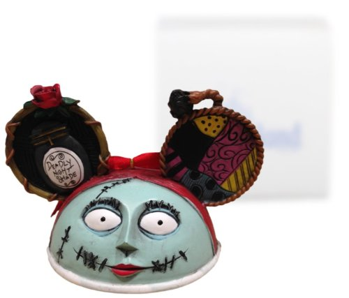 "Nightmare Before Christmas ""Sally"" Mickey Ears Ornament – Disney Parks Exclusive & Limited Availability"
