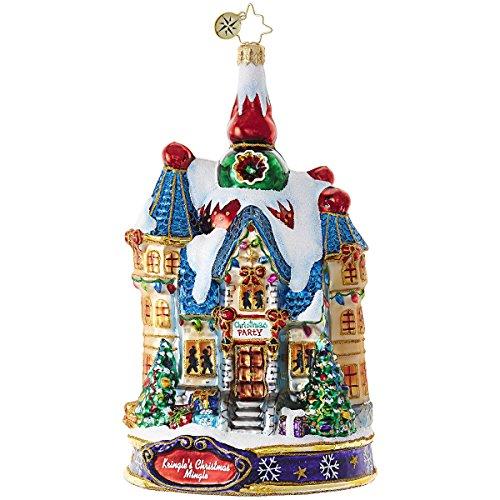 Christopher Radko The Big Night! Cottage Kringle's Christmas Mingle Ornament