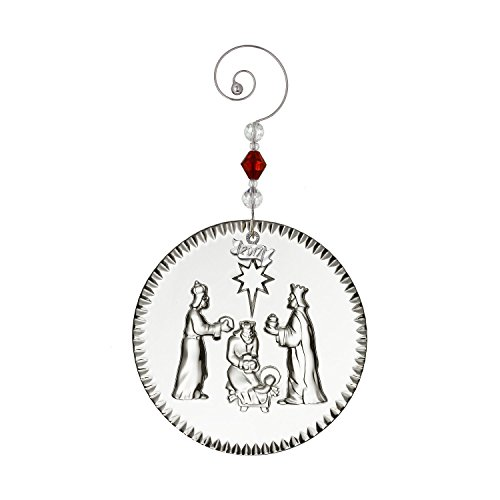 Waterford Crystal 2017 NativityThree Wise Men Christmas Ornament