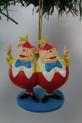 "Disney's Alice in Wonderland ""Tweedledee and Tweedledum"" Ornament- Limited Availability"