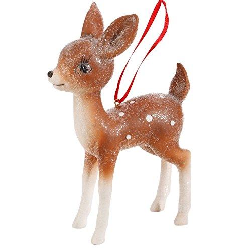 7″ Vintage Standing Deer Ornament