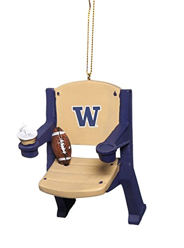 Washington Huskies Stadium Chair Ornaments