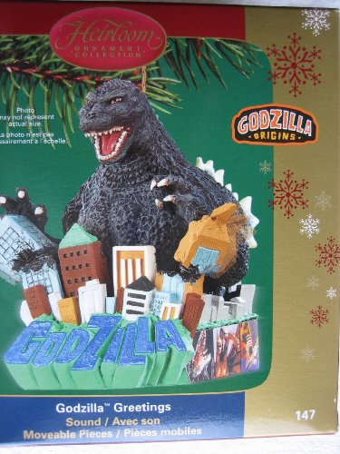Carlton Heirloom Ornament Collection – Godzilla Greetings