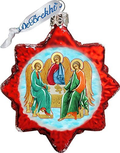 G. Debrekht Trinity Star Glass Ornament Figurine