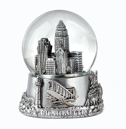 Charlotte Silver Snow Globe 65mm