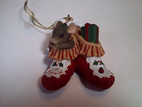 Charming Tails Bootie Baby Ornament