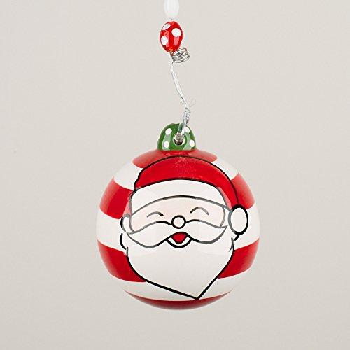 Glory Haus 2090107 Santa Ball Chirstmas Ornament