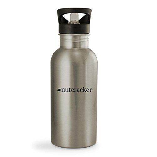 #nutcracker – 20oz Hashtag Sturdy Stainless Steel Water Bottle, Silver