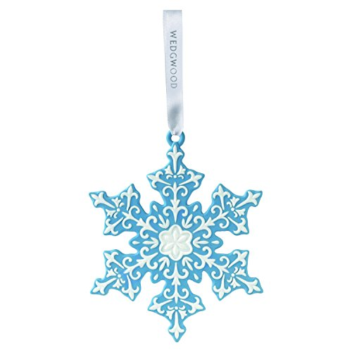 Wedgwood Snowflake Christmas collection, Blue