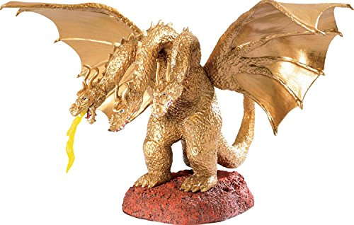 6.5″ Carlton Cards Heirloom Light-Up Roaring King Ghidorah Christmas Ornament