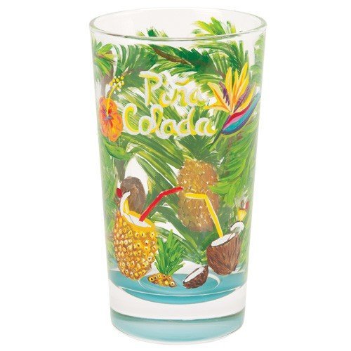 Santa Barbara Design Studio GLS21-5526C Lolita Cocktail Drink Glass, Pina Colada