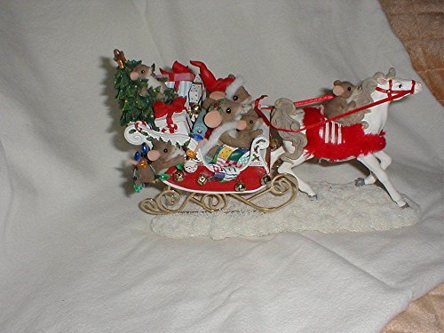 Enesco Charming TailsA Sleigh Full of Joy 98/379
