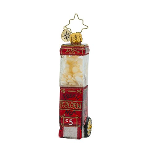Christopher Radko Popped to Perfection Little Gem Foods Christmas Ornament