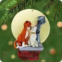 "Disneys ""Thomas O'malley and Duchess"" Christmas Ornament 2001"