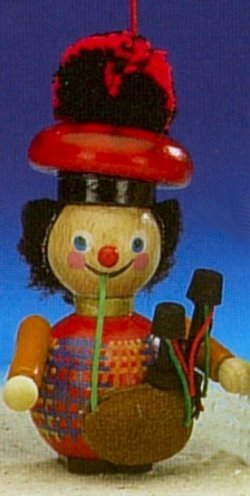Scottish Bagpiper Steinbach Christmas Tree Ornament