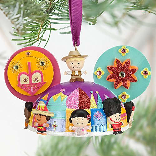 "Disney ""it's a small world"" Ear Hat Ornament"
