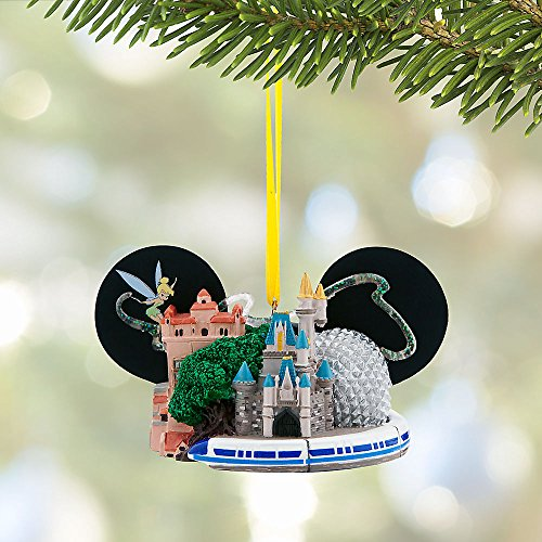 Disney Walt Disney World Ear Hat Ornament with Tinker Bell