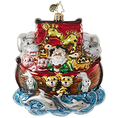 Christopher Radko Everyone On! Religious Christmas Ornament