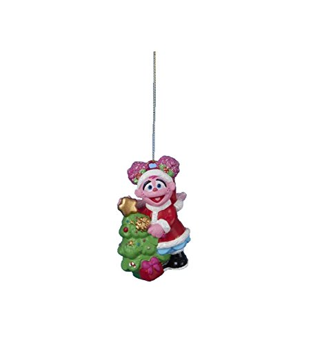 3.25″ Sesame Street Abby Monster Decorative Character Christmas Ornament