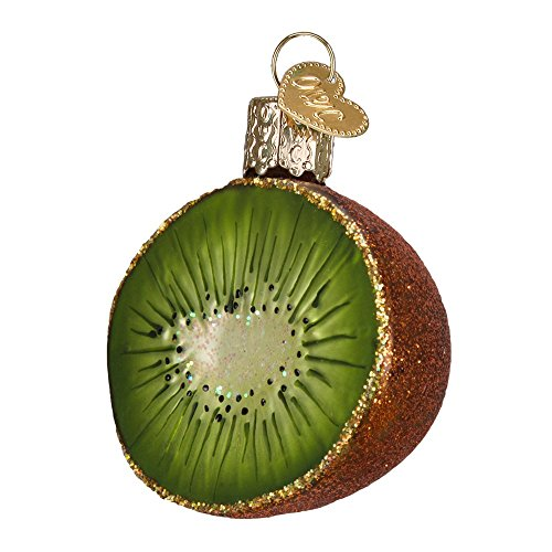 Old World Christmas Kiwi Glass Blown Ornament