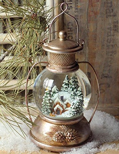 Musical Snowbound Snowglobe with Christmas Music by Victorian Trading Co.