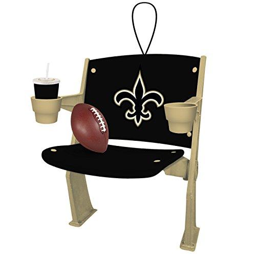 NFL Licensed Team Stadium Chair Ornament (New Orleans Saints)