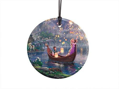 Tangled In the Boat Thomas Kinkade Hanging StarFire Print
