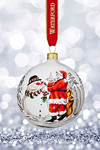 Waterford Nostalgic Magic of Christmas Ball Ornament 2017