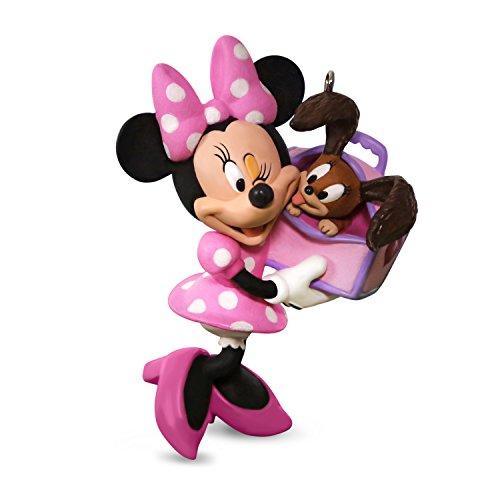 Hallmark Keepsake 2017 Disney Minnie Mouse Girl's Best Friend Christmas Ornament