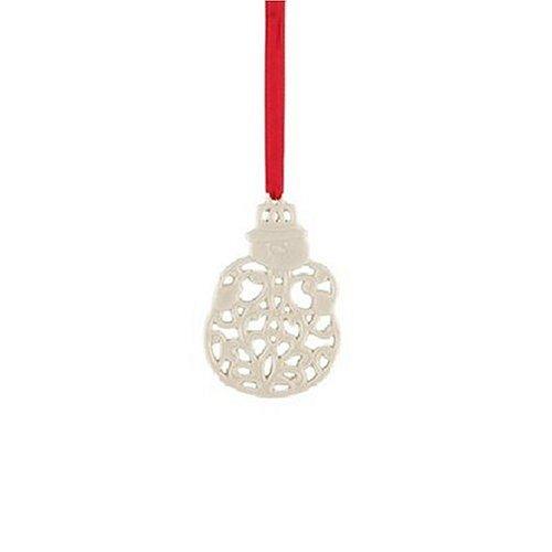 Lenox Snowman Charm Ornament