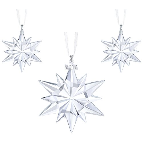Swarovski Crystal Christmas Ornament Set 2017