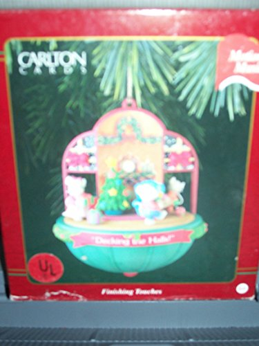 "Carlton Ornament ""Decking the Halls"" Finishing Touches with Motion and Music"