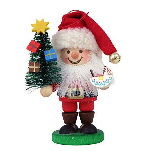 Christian Ulbricht Santa Holding Tree Christmas Ornament
