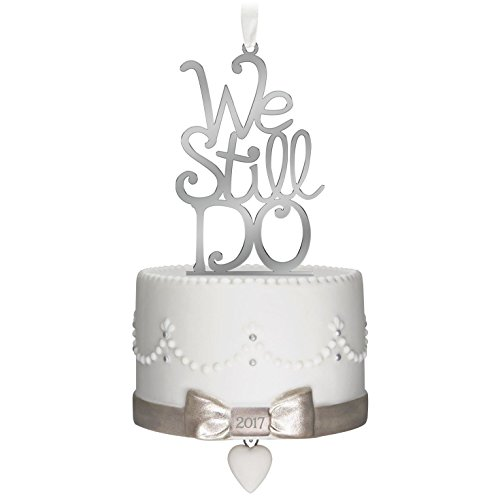Hallmark 1795QHX1095 Anniversary Keepsake Christmas Ornaments