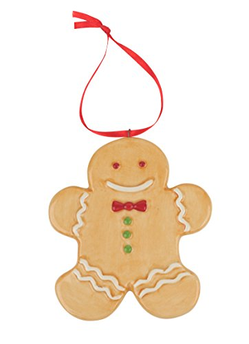 Spode Christmas Tree Ornament, Gingerbread Man