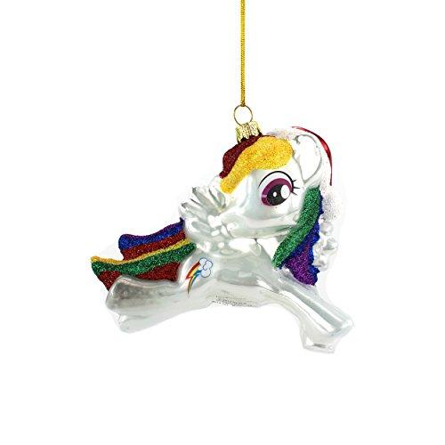 My Little Pony Rainbow Dash Kurt Adler Glass Ornament Gift Boxed