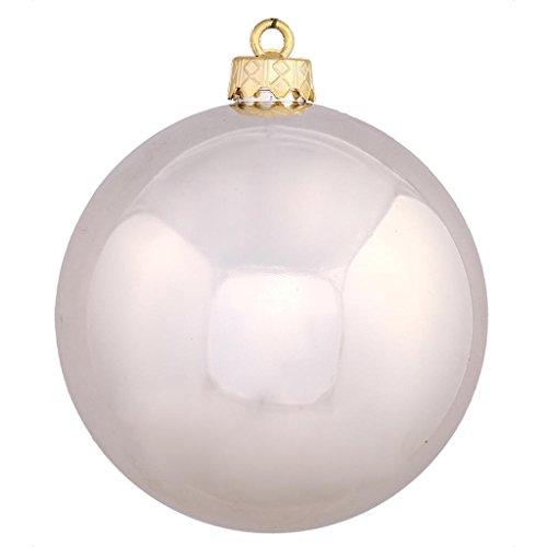 Vickerman 256534 – 2.4″ Champagne Shiny Ball Christmas Tree Ornament (60 pack) (N596038S)