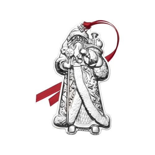 Wallace 2017 Sterling Santa Ornament – 1st Edition