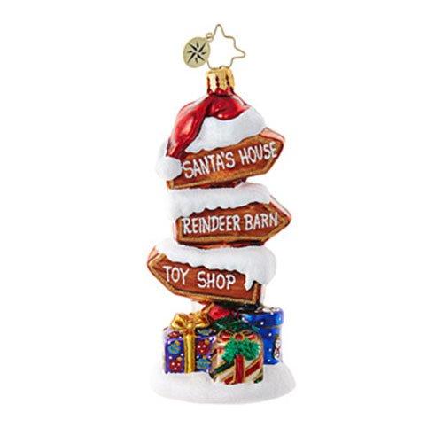 Christopher Radko Points of Interest Brilliant Treasure Christmas Ornament