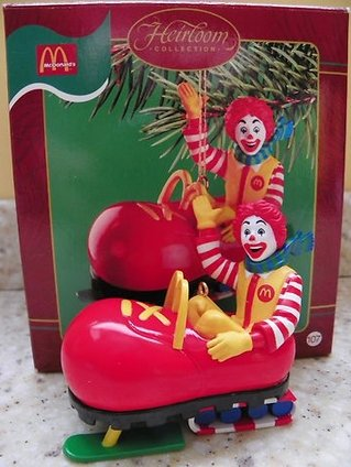 "Carlton Heirloom Collection McDonalds ""100 Smiles an Hour"" – 2002"