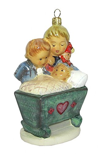 Hummel figurine Christmas ornament Blessed Event, original MI Hummel Collection, gift-boxed